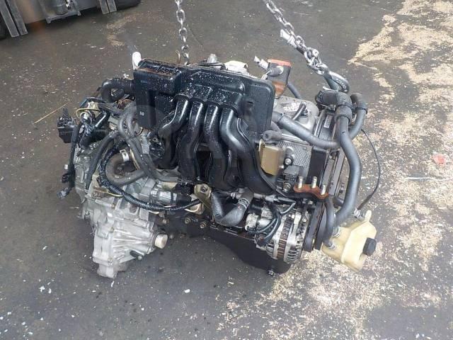 Двигатель в сборе. Mazda: Revue, Familia, Demio, Eunos Presso, Eunos 100, Autozam AZ-3 Двигатели: B5MI, B5, B5ZE, B5E, B5ME, B5DE