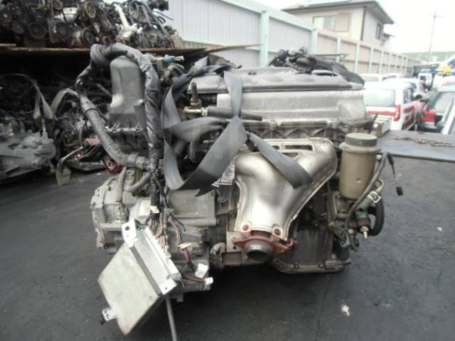 Двигатель в сборе. Toyota: Corona, Platz, ist, Vios, Avensis, WiLL Vi, Corolla, Probox, Yaris Verso, Carina, Echo Verso, Caldina, WiLL Cypha, Vellfire...