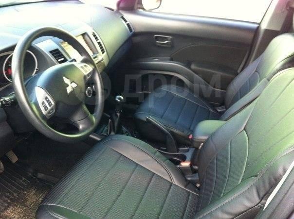 Чехлы. Mitsubishi Outlander. Под заказ