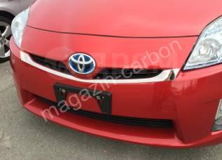 Накладка на бампер. Toyota Prius, ZVW30, ZVW30L, ZVW35 Двигатель 2ZRFXE