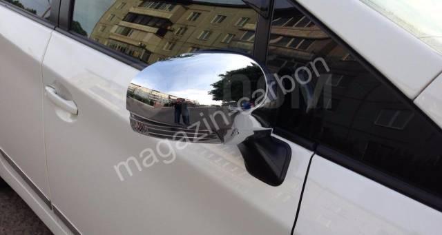 Накладка на зеркало. Toyota Prius, ZVW30, ZVW30L, ZVW35 Toyota Prius a, ZVW40W, ZVW41W Toyota Prius v, ZFW41 Двигатель 2ZRFXE