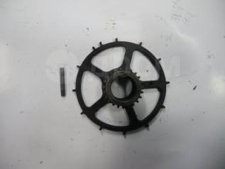 Шкив коленвала. Honda: Jazz, Mobilio, City, Civic, Airwave, Mobilio Spike, Fit Aria, Fit, Partner Двигатели: L12A1, L12A3, L12A4, L13A1, L13A2, L13A5...