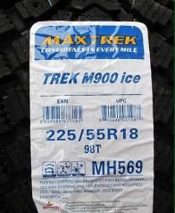 В НАЛИЧИИ Новые шины Maxtrek от Bridgestone в наличии, 225/55R18. Зимние, шипованные, 2017 год, без износа, 4 шт