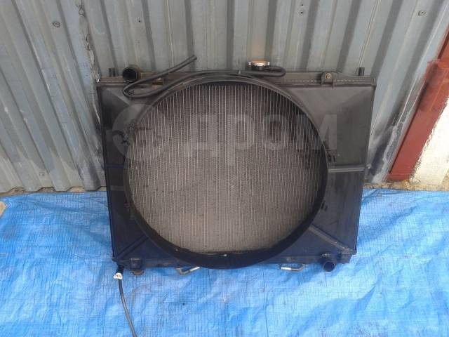 Радиатор охлаждения двигателя. Mitsubishi Pajero, V65W, V75W Двигатель 6G74