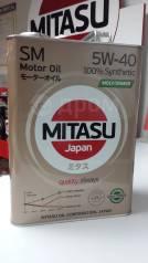 Mitasu. Вязкость 5W40, синтетическое