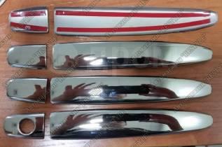 Накладка на ручку двери. Toyota Premio, NZT260, ZRT260, ZRT261, ZRT265 Двигатели: 1NZFE, 2ZRFAE, 2ZRFE, 3ZRFAE