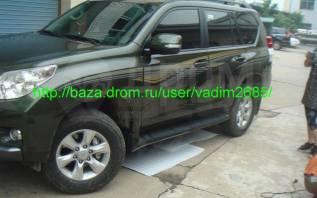 Порог пластиковый. Toyota Land Cruiser Prado, GDJ150, GDJ150L, GDJ150W, GRJ150, GRJ150L, GRJ150W, GRJ151W, KDJ150, KDJ150L, LJ150, TRJ120, TRJ150, TRJ...