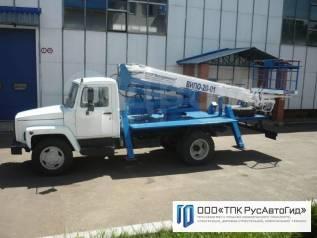 ГАЗ 3309. Продаётся с АГП ВИПО 20-01, 4 015куб. см., 19,00м.