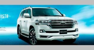 Обвес кузова аэродинамический. Toyota Land Cruiser, GRJ200, J200, URJ200, URJ202, URJ202W, UZJ200, UZJ200W, VDJ200 Двигатели: 1URFE, 1VDFTV. Под заказ