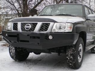 Бампер. Nissan Patrol, Y61 Nissan Safari