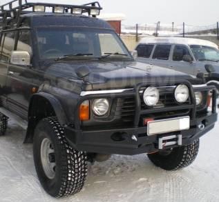 Бампер. Nissan Patrol, Y60