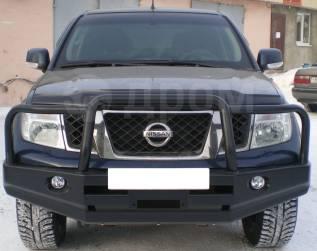 Бампер. Nissan Navara