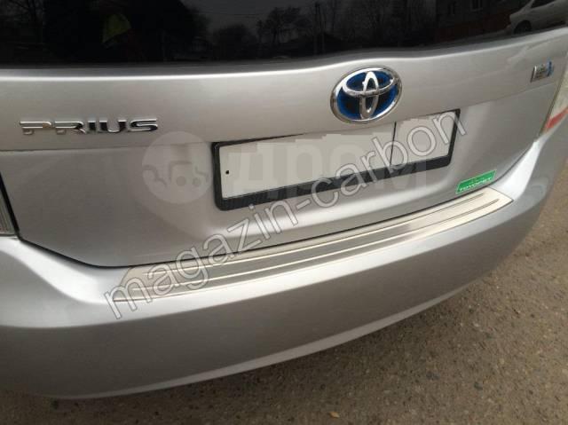 Накладка на бампер. Toyota Prius, NHW20, ZVW30, ZVW30L Двигатели: 1NZFXE, 2ZRFXE