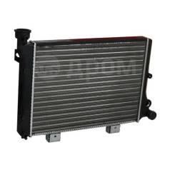 Радиатор охлаждения двигателя. Лада 2106, 2106 Лада 2101, 2101 Лада 2102, 2102 Лада 2103, 2103
