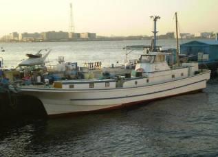 Шхуна рыболовно - туристическая Нагоя Алмаз Зосен во Владивостоке. 2008 год год, длина 18,00м., двигатель стационарный, 550,00л.с., дизель