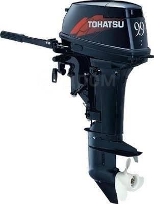 Tohatsu. 9,90л.с., 2-тактный, бензиновый, нога S (381 мм)