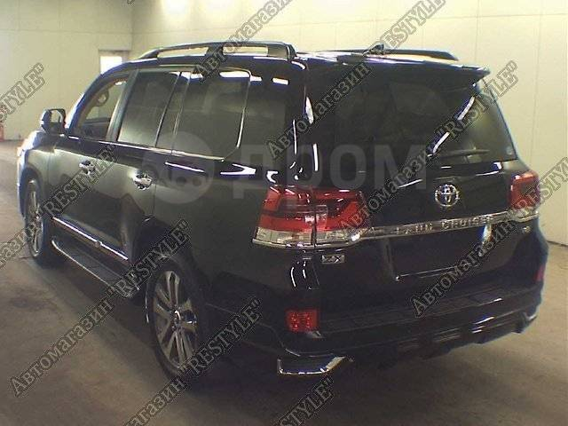 Обвес кузова аэродинамический. Toyota Land Cruiser, J200, URJ202, URJ202W, UZJ200, UZJ200W, VDJ200