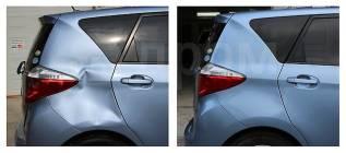 Беспокрасочное удаление вмятин на автомобиле, полировка- обучение.