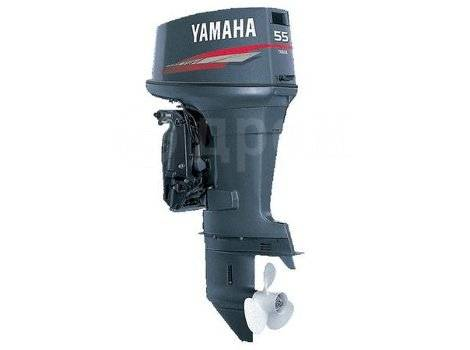 Yamaha. 55,00л.с., 2-тактный, бензиновый, нога S (381 мм), 2017 год год