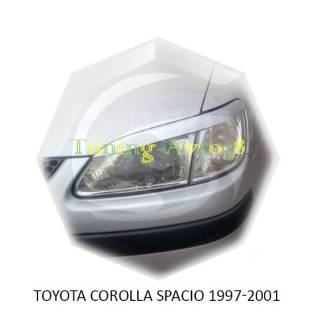 Накладка на фару. Toyota Corolla Spacio, AE111N, AE115N Двигатели: 4AFE, 7AFE
