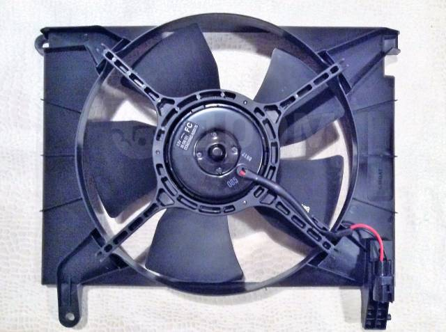 вентилятор охлаждения двигателя chevrolet aveo 2005