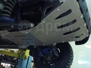 Установка защиты картера (двигателя) и КПП, РК