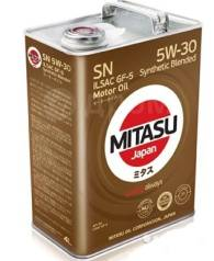 Mitasu. Вязкость 5W-30, полусинтетическое