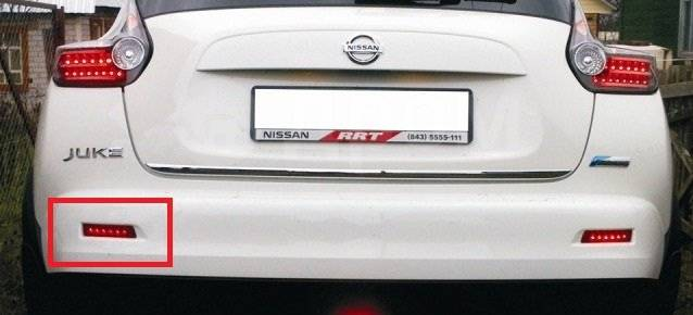 Катафот. Nissan Juke