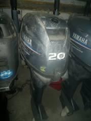 Yamaha. 20,00л.с., 4-тактный, бензиновый, нога L (508 мм), 2006 год год