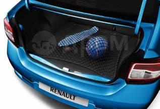 Сетка для стяжки багажа. Renault Logan, L8 Renault Sandero, 5S Двигатели: H4M, K4M, K7M, D4F. Под заказ