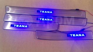 Накладка на порог. Nissan Teana, J32, PJ32, TNJ32 Двигатели: QR25DE, VQ25DE, VQ35DE