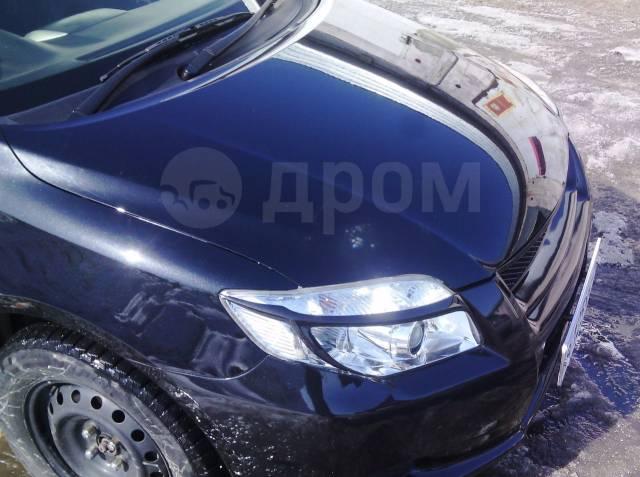 Накладка на фару. Toyota Corolla Axio, NZE141, NZE144, ZRE142, ZRE144