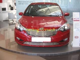 Молдинг решетки радиатора. Kia Cerato, TD Двигатели: G4FC, G4KD
