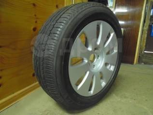 """Одно колесо 16'' от «AUDI», 205/55R16 Bridgestone Turanza ER300. 7.0x16"""" 5x112.00 ET42 ЦО 57,0мм."""