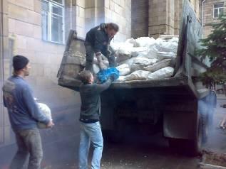 Вывоз строительного мусора, старой мебели, картона, колес, и хлама.