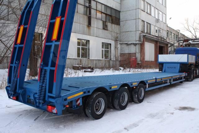 Texoms. 3-х осный уширители 40 тонн новый от производителя, 40 000кг.