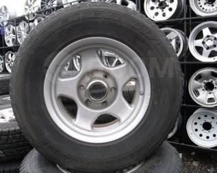 """Шины Bridgestone 265/70R16 лето на литье Toyota Prado, Surf и т. д. 8.0x16"""" 6x139.70 ET0"""