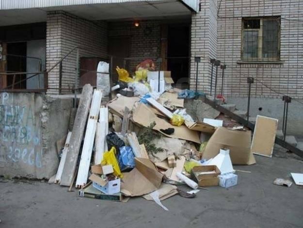 Вывоз мусора частное лицо, демонтаж, пенопласта, резины