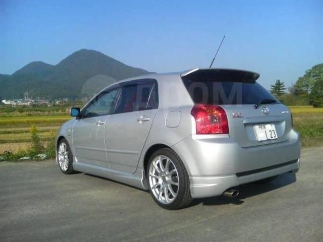 Обвес кузова аэродинамический. Toyota Allex Toyota Corolla Runx