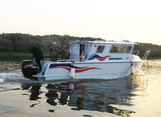 Rusboat. 2017 год год, длина 8,50м., двигатель подвесной, 500,00л.с., бензин. Под заказ