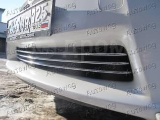 Накладка на решетку бампера. Toyota Prius Двигатель 1NZFXE