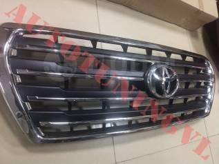 Решетка радиатора. Toyota Land Cruiser, GRJ200, GRJ76K, GRJ79K, J200, URJ200, URJ202, URJ202W, UZJ200, UZJ200W, VDJ200 Двигатели: 1GRFE, 1URFE, 1VDFTV...