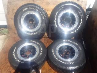 "Хорошие колеса сняты с Mitsubishi Delica R15. 7.0x15"" 6x139.70 ET0"