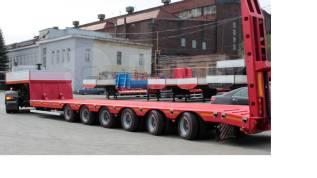 Texoms. 70 тонн шестиосный низкорамный трал новый 2018г, 70 000кг.