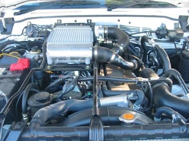 Двигатель в сборе. Nissan Patrol Двигатель TD42