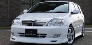 Решетка радиатора. Toyota Corolla Fielder, CE121, CE121G, NZE120, NZE121, NZE121G, NZE124, NZE124G, ZZE122, ZZE122G, ZZE123, ZZE123G, ZZE124, ZZE124G...