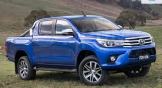 Порог пластиковый. Toyota Hilux Pick Up, GUN125, GUN125L, GUN126L Двигатели: 1GDFTV, 2GDFTV
