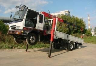 Бортовой грузовик с краном-манипулятором! эвакуатор хабаровск