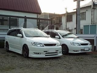 Обвес кузова аэродинамический. Toyota Allex Toyota Corolla Fielder Toyota Corolla Runx. Под заказ