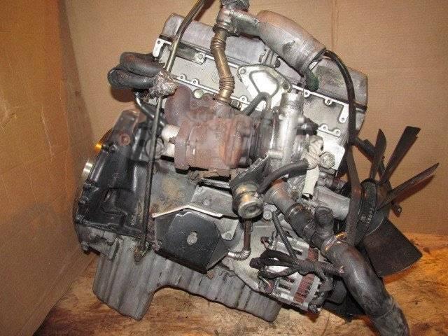 Двигатель в сборе. SsangYong Musso SsangYong Korando ТагАЗ Роад Партнер Двигатель D20DTF